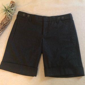 Vince Gray Wool Trouser Shorts sz 6